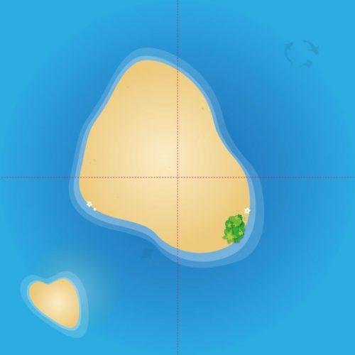 XXL Spielmatte – Abenteuerinsel