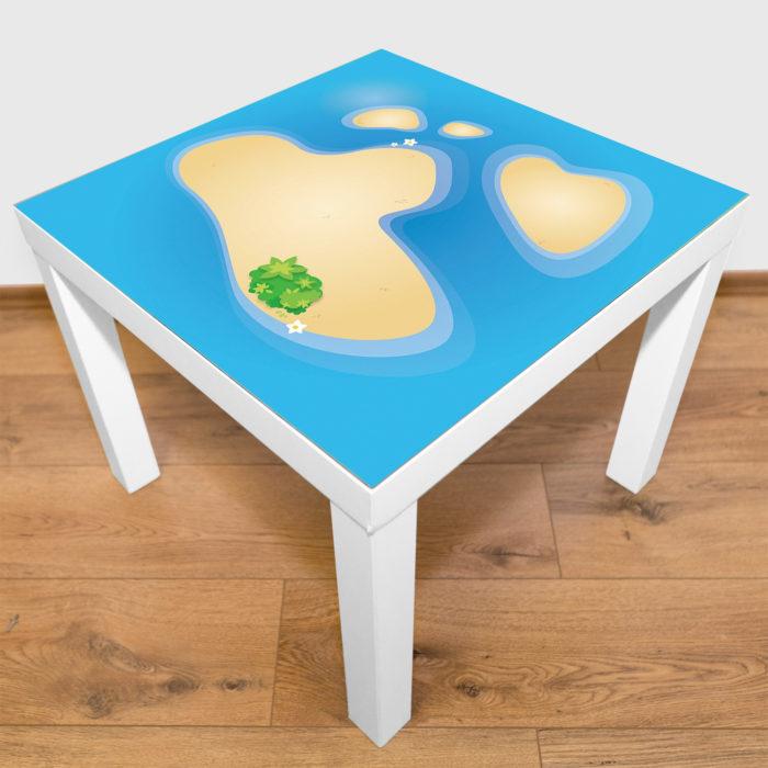 Spielmatte – Kleines Atoll
