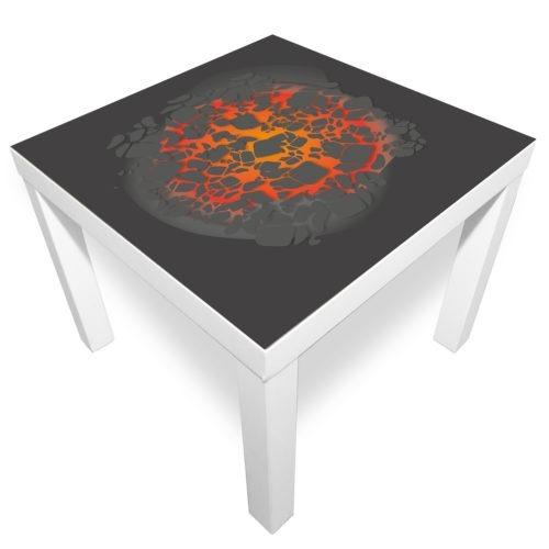 Spielmatte – Glühende Lava