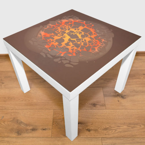 playmat – Melting lava