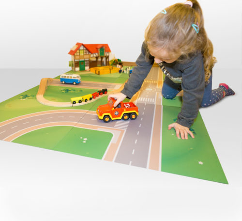 playmat – T-junction