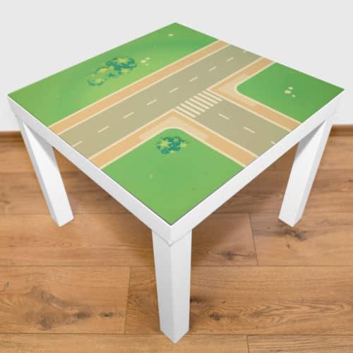 Spielmatte – T-Kreuzung