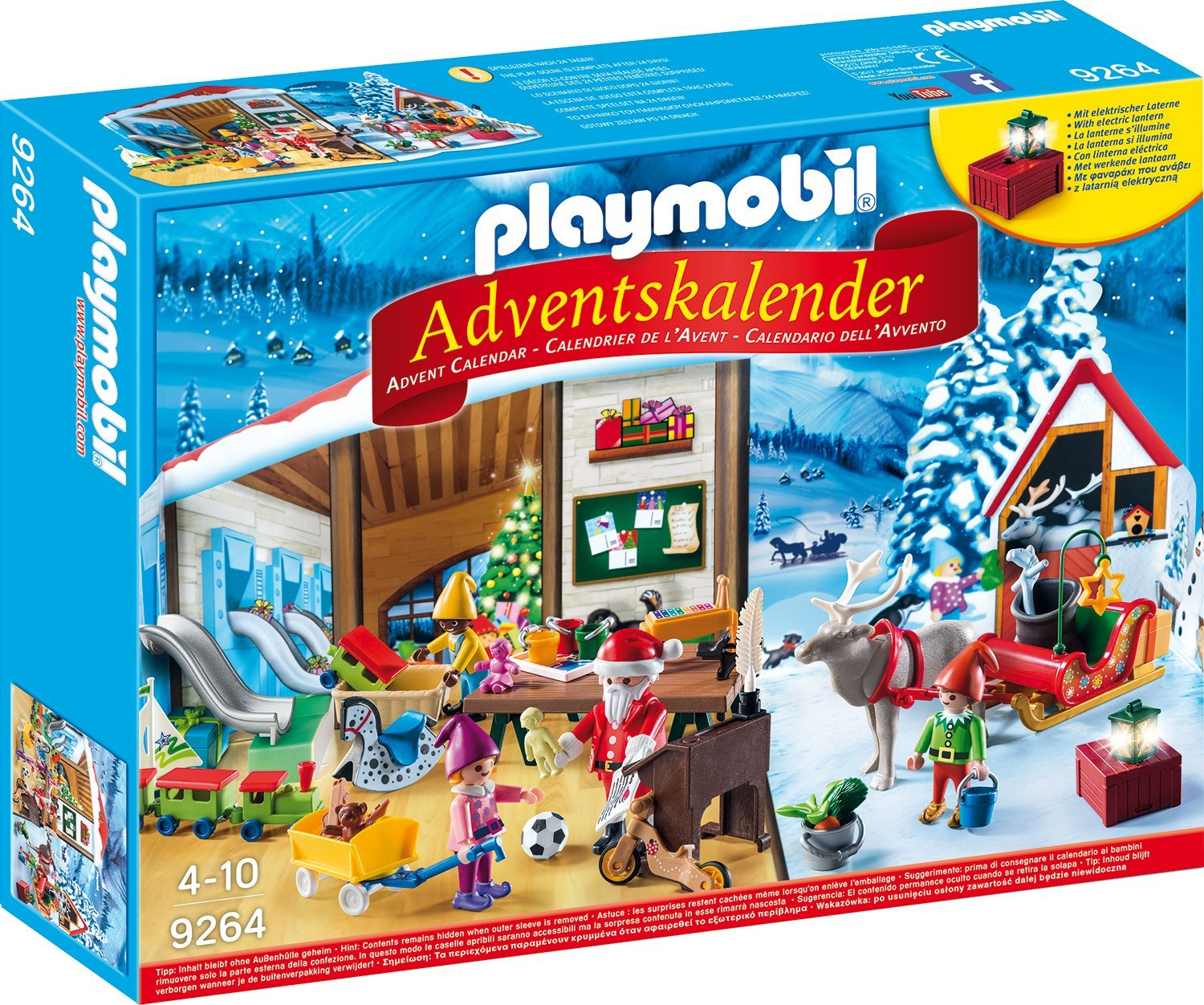 playmobil adventskalender wichtelwerkstatt inkl spielmatte. Black Bedroom Furniture Sets. Home Design Ideas