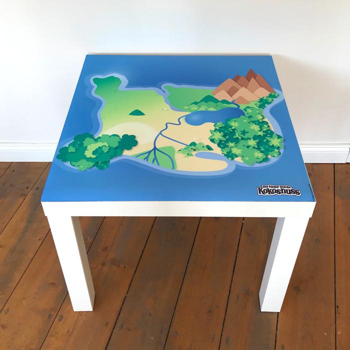 Spielmatte – Kleiner Drache Kokosnuss Dracheninsel