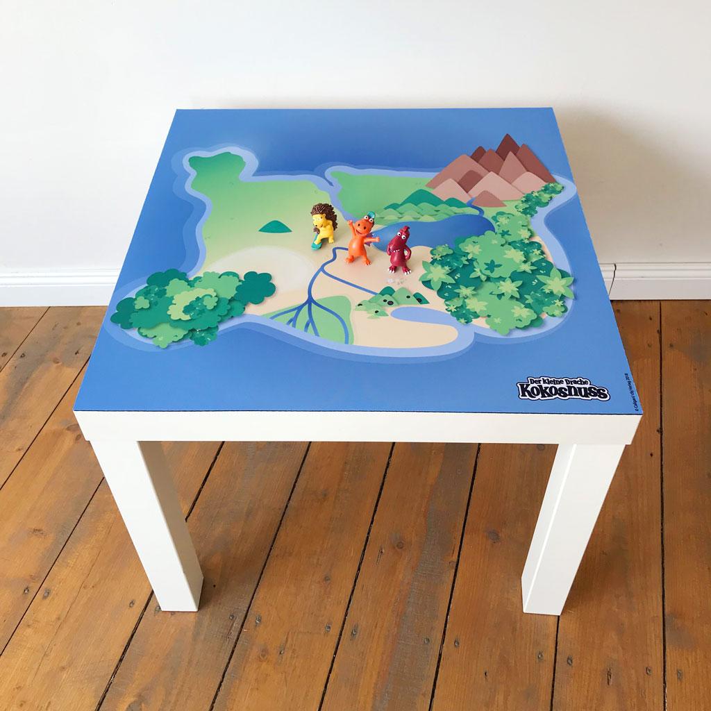 Drache Kokosnuss Dracheninsel Spielmatte