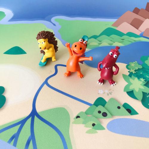 Play Mat – Little Dragon Coconut Dragon Island
