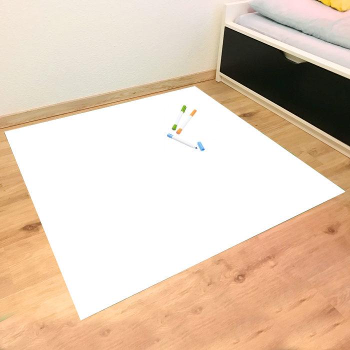 XXL Spielmatte – bemalbare Spielmatte inklusive Stiftset