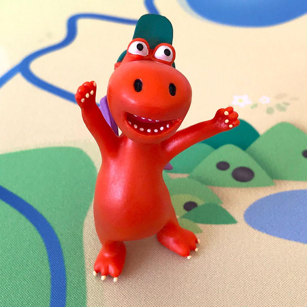 Spielmatte – Kleiner Drache Kokosnuss Dracheninsel inklusive Figuren