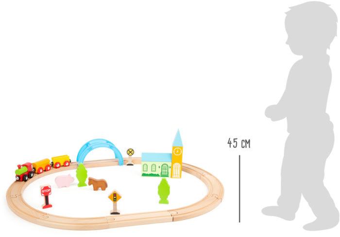 Holzeisenbahn Stadt und Land