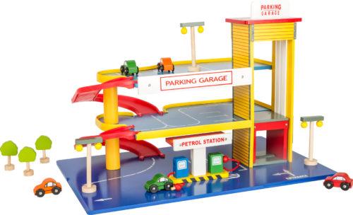 Holzspielzeug Parkhaus