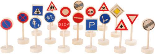 Verkehrsschilder für Straßen Spielmatten